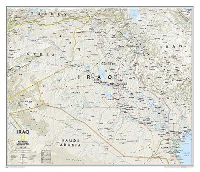 Iraq Classic, Tubed: Wall Maps Countries & Regions (Sheet map, rolled)