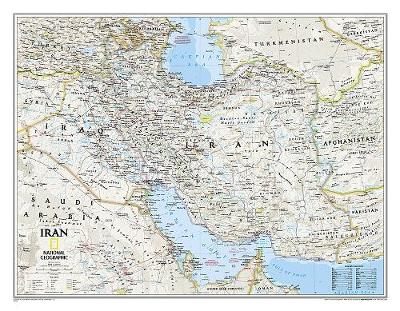 Iran Classic, Tubed: Wall Maps Countries & Regions (Sheet map, rolled)