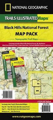 Black Hills National Forest, Map Pack Bundle: Trails Illustrated Other Rec. Areas (Sheet map, folded)