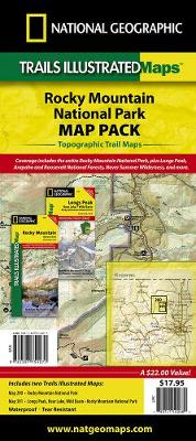 Rocky Mountain National Park, Map Pack Bundle: Trails Illustrated National Parks (Sheet map, folded)