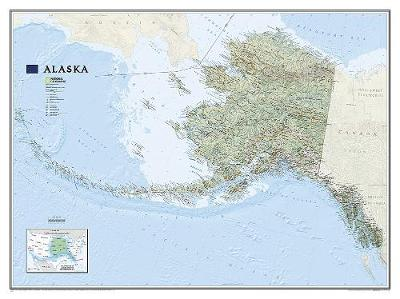 Alaska Flat: Wall Maps U.S. (Sheet map)