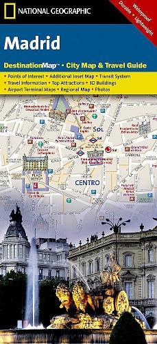 Madrid: Destination City Maps (Sheet map, folded)