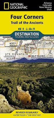 Four Corners: Destination Map (Sheet map, folded)