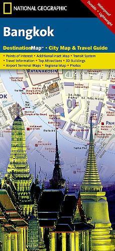 Bangkok: Destination City Maps - Destination City Maps (Sheet map, folded)