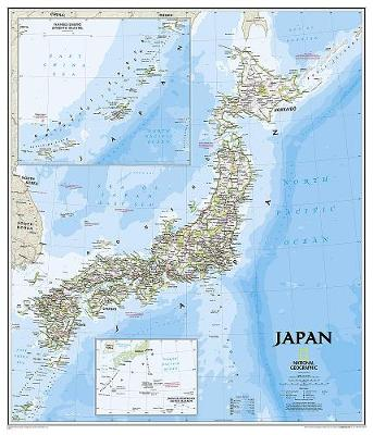 Japan Classic, Tubed: Wall Maps Countries & Regions (Sheet map, rolled)