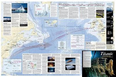 Titanic, Folded And Polybagged: Wall Maps History & Nature (Sheet map, folded)