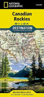 Canadian Rockies: Destination Map (Sheet map, folded)