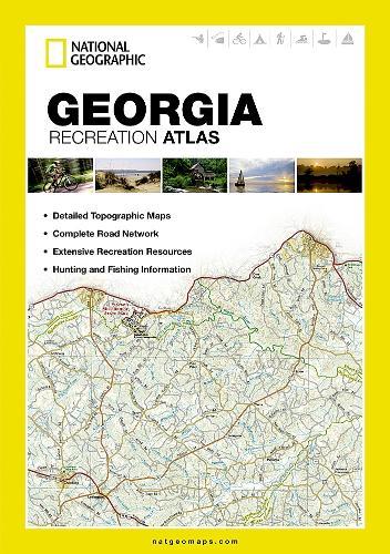 Georgia: State Recreation Atlas (Paperback)