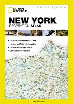 New York: State Rec Atlas (Paperback)