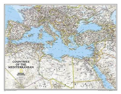 Mediterranean Region Classic, Tubed: Wall Maps - Countries & Regions (Sheet map, rolled)