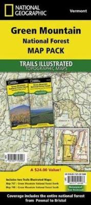 Green Mountain National Forest, Vermont, Map Pack Bundle: Trails Illustrated National Parks (Sheet map, folded)