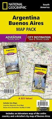 Argentina, Buenos Aires, Map Pack Bundle: Travel Maps International Adventure/Destination Map (Sheet map, folded)