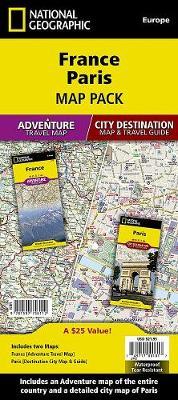 France, Paris, Map Pack Bundle: Travel Maps International Adventure/Destination Map (Sheet map, folded)