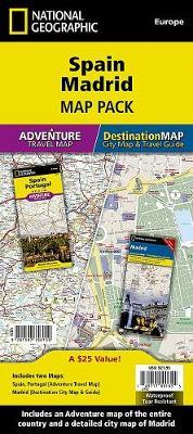 Spain, Madrid, Map Pack Bundle: Travel Maps International Adventure/Destination Map (Sheet map, folded)