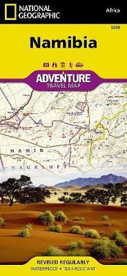 Namibia: Travel Maps International Adventure Map (Sheet map, folded)