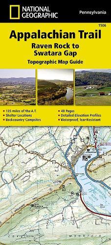 Appalachian Trail, Raven Rock To Swatara Gap, Pennsylvania: Trails Illustrated (Sheet map, folded)