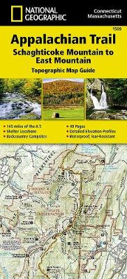 Appalachian Trail, Schaghticoke Mountain To East Mountain, Connecticut, Massachusetts: Trails Illustrated (Sheet map, folded)