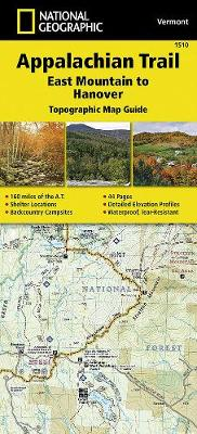 Appalachian Trail, East Mountain To Hanover, Vermont: Trails Illustrated (Sheet map, folded)