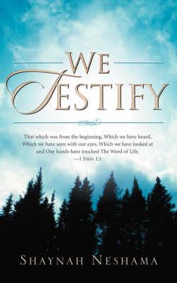 We Testify (Paperback)