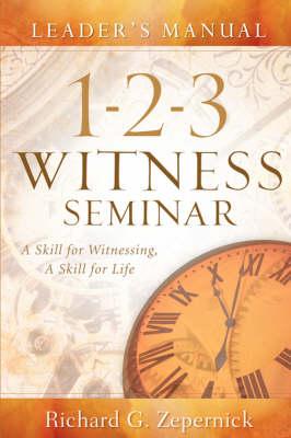 1-2-3 Witness Seminar Leader's Manual (Paperback)