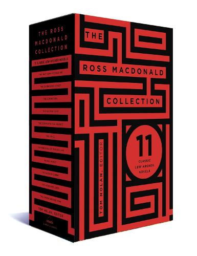The Ross Macdonald Collection: A Library of America Boxed Set (Hardback)