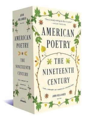American Poetry: The Nineteenth Century: A Library of America Boxed Set (Paperback)