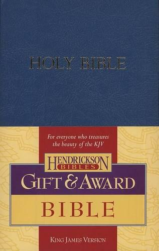 KJV Gift and Award Bible - Blue (Paperback)