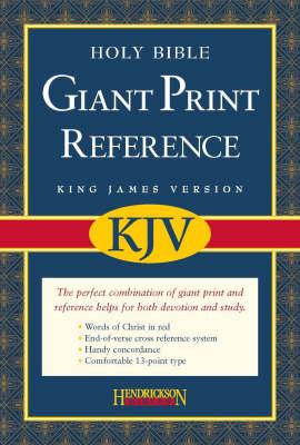 KJV Reference Bible (Hardback)