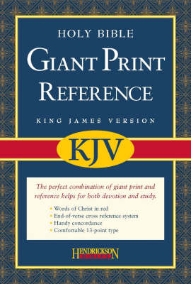 KJV Reference Bible (Leather / fine binding)