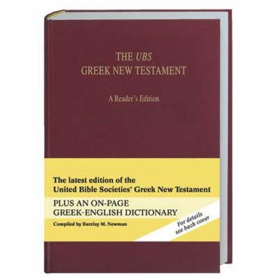 The UBS Greek New Testament (Paperback)
