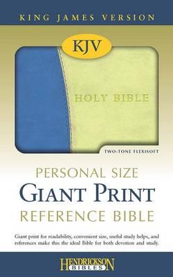 Personal Size Giant Print Reference Bible-KJV (Hardback)