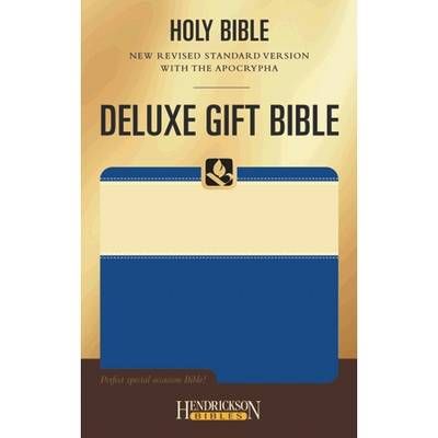 NRSV Deluxe Gift Bible with the Apocrypha (Leather / fine binding)