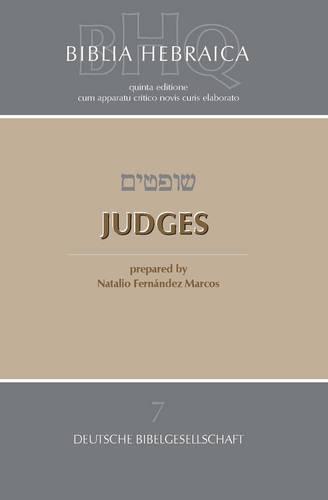 Biblia Hebraica Quinta Judges (Paperback)
