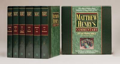 Matthew Henry's Commentary on the Whole Bible (Hardback)