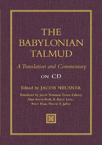 Babylonian Talmud: A Translation and Commentary on CD (CD-ROM)