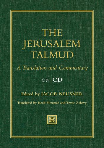 Jerusalem Talmud: A Translation and Commentary on CD (CD-ROM)