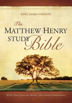 The Matthew Henry Study Bible (Leather / fine binding)