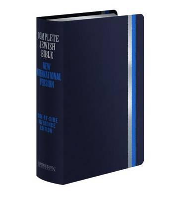 Complete Jewish Bible-PR-Cjb/NIV: Side-By-Side Reference (Leather / fine binding)