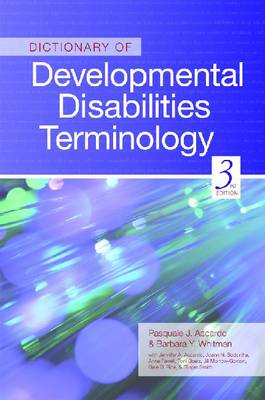 Dictionary of Developmental Disabilities Terminology (Paperback)