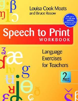 Speech to Print Workbook: Language Exercises for Teachers (Paperback)
