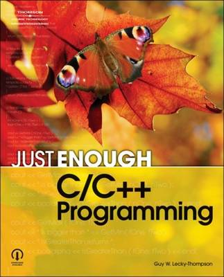 Just Enough C/C ++ Programming (Paperback)