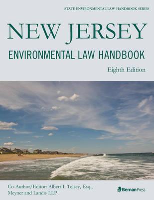 New Jersey Environmental Law Handbook - State Environmental Law Handbooks (Paperback)