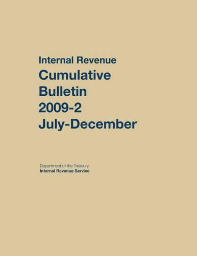 Internal Revenue Service Cumulative Bulletin: 2012 (July-December) (Hardback)