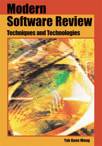 Modern Software Review: Techniques and Technologies (Hardback)