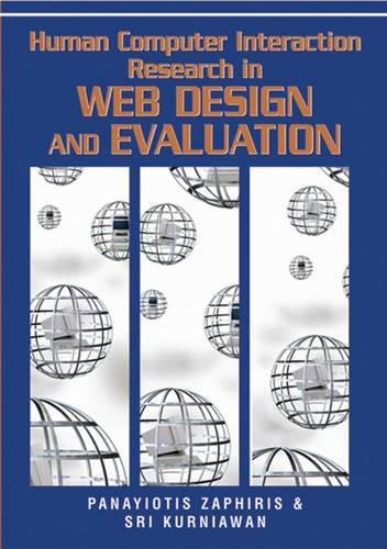 Human Computer Interaction Research in Web Design and Evaluation (Hardback)