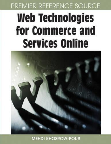 Web Technologies for Commerce and Services Online (Hardback)