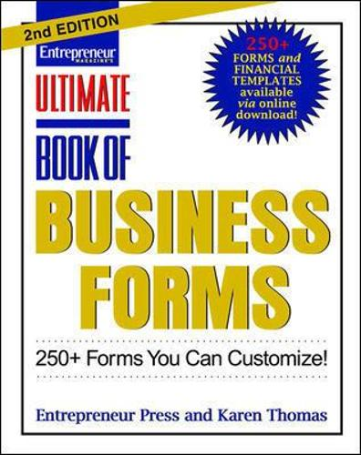 Ultimate Book of Business Forms: 250+ Forms You Can Customize (Paperback)