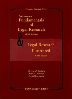 Assignments to Fundamentals of Legal Research - University Casebook Series (Paperback)