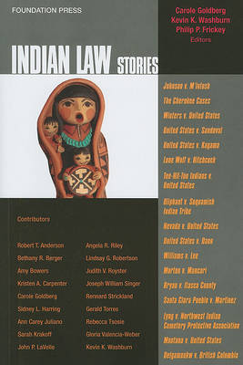 Indian Law Stories - Law Stories (Paperback)