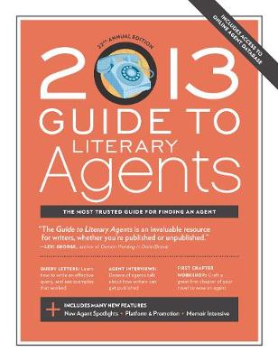 2013 Guide to Literary Agents (Paperback)